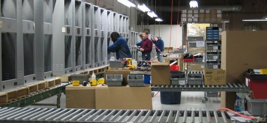 Inside View of a Manufacturer