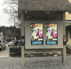 Interactive Digital Tourism Signage