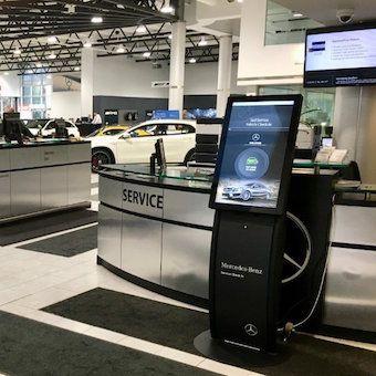 GoMoto Automotive Retail Kiosks
