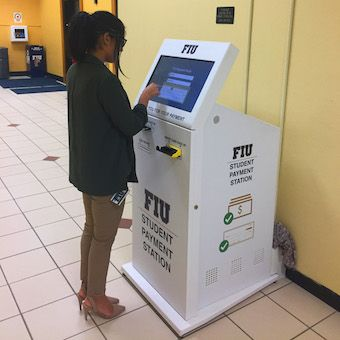 Florida International University Bill Payment Kiosks