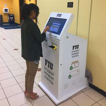 Florida International University Bill Payment Kiosks