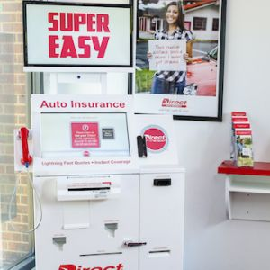 Insurance Purchasing + Bill Payment Kiosk