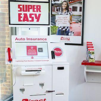 Direct Auto Self Service Insurance Kiosk