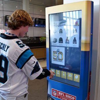 Super Bowl 50 Retail Kiosks