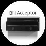 Bill + Coin Acceptor