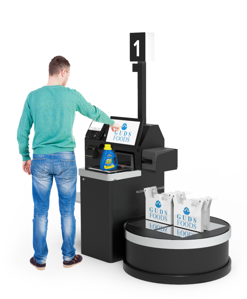 Retail Self-Checkout Kiosk
