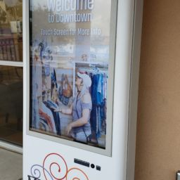 Interactive Kiosks Help Navigate Downtown