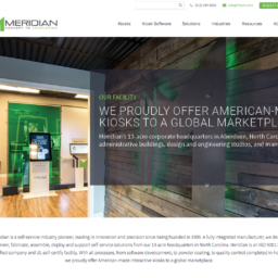 Meridian Kiosks Announces Launch of Newly Redesigned Website