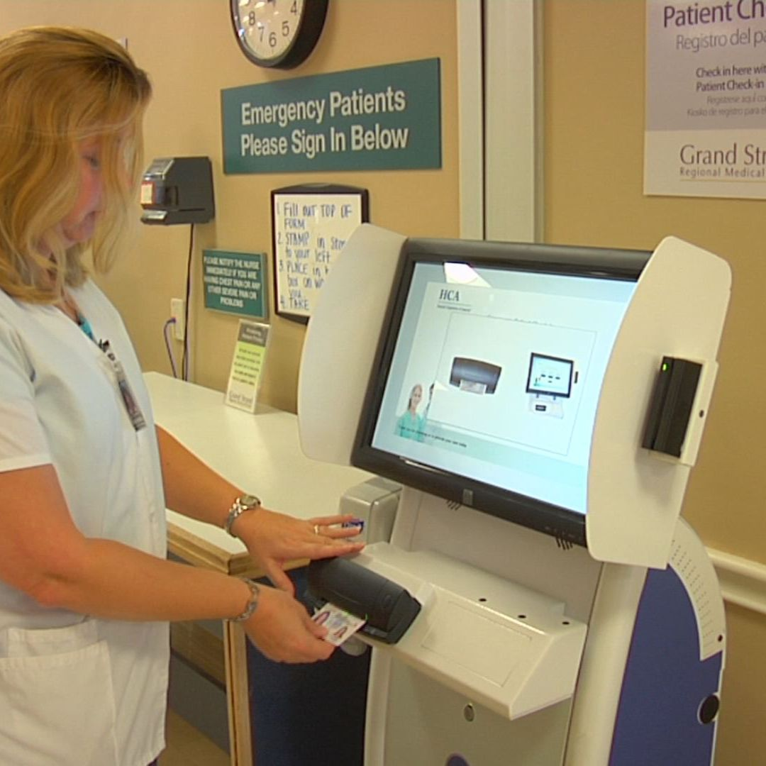 PATIENT CHECK IN KIOSK