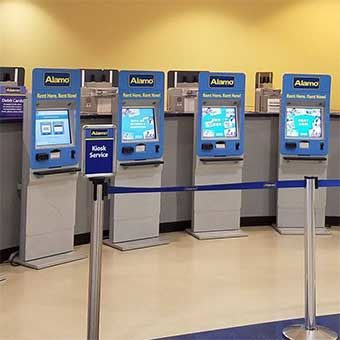 Enterprise Holdings Car Rental Kiosks