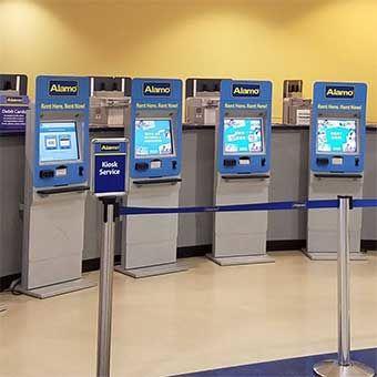 Enterprise Holdings Car Rental Kiosks