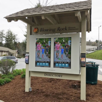 Blowing Rock Outdoor Kiosks