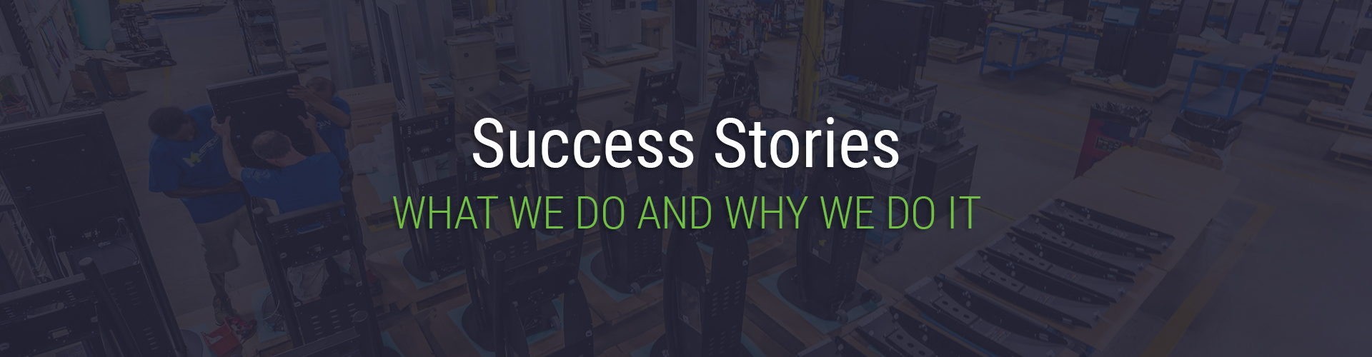 Success Stories Header