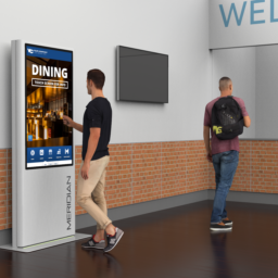 Understanding the Difference Between Digital Signage Kiosks and Digital Displays
