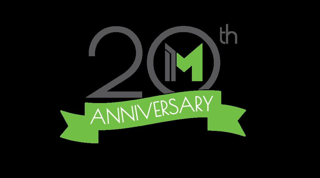Meridian 20th Anniversary Logo