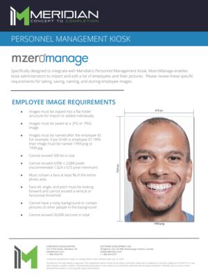 MzeroManage Photo Instructions