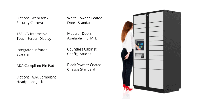 Automated Smart Locker