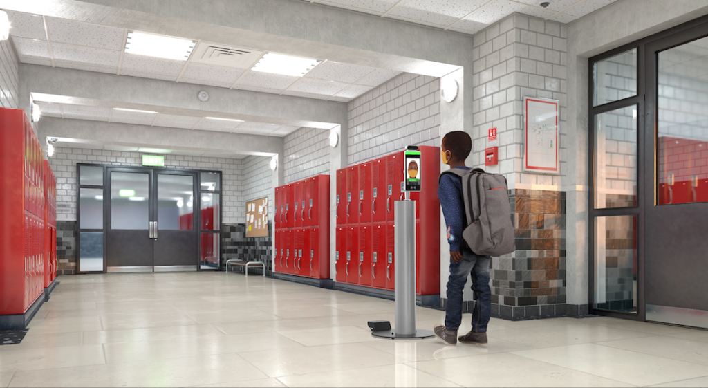 School Temperature Screening Kiosk