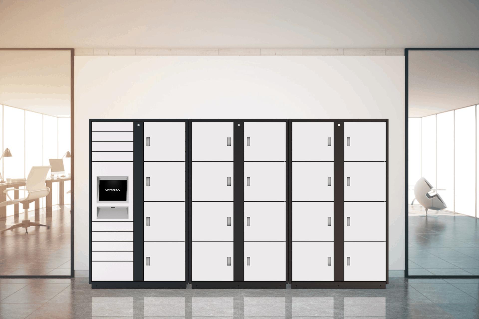 3 Column Locker