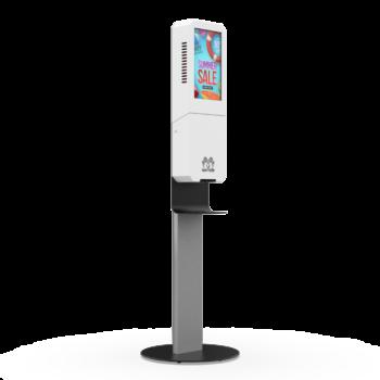 Digital Signage Sanitizer Kiosk